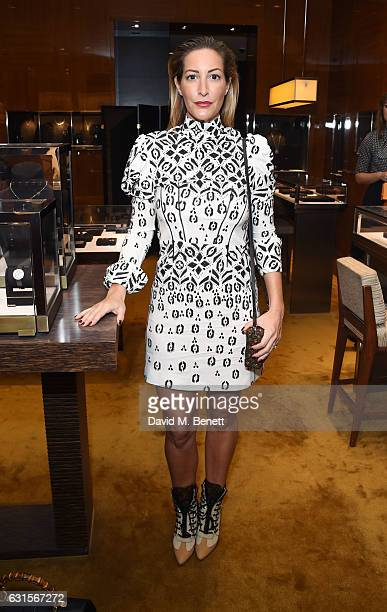 Laura Pradelska attends the Louis Vuitton UNICEF #MakeAPromise Day event at the Louis Vuitton New Bond Street store on January 12 2017 in London...