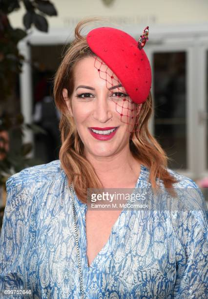 Laura Pradelska in the new enclosure at Royal Ascot the Village Enclosure on day 3 of Royal Ascot at Ascot Racecourse on June 22 2017 in Ascot England