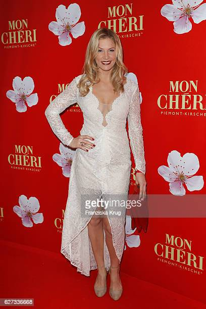 Laura Preiss attends the Mon Cheri Barbara Tag at Postpalast on December 2 2016 in Munich Germany