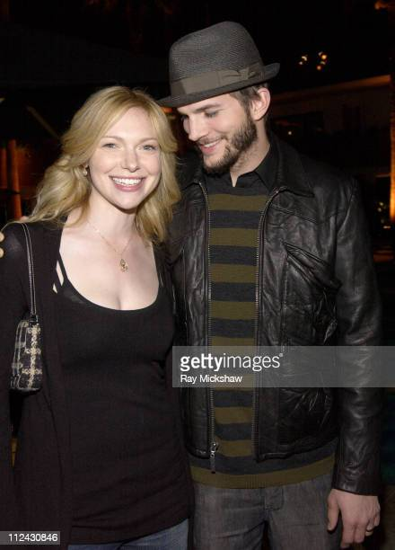 Laura Prepon and Ashton Kutcher during 'That '70s Show' Series Wrap Party Inside in Los Angeles California United States