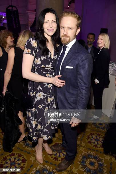 Laura Prepon and Ben Foster attend IFP's 28th Annual Gotham Independent Film Awards at Cipriani, Wall Street on November 26, 2018 in New York City.