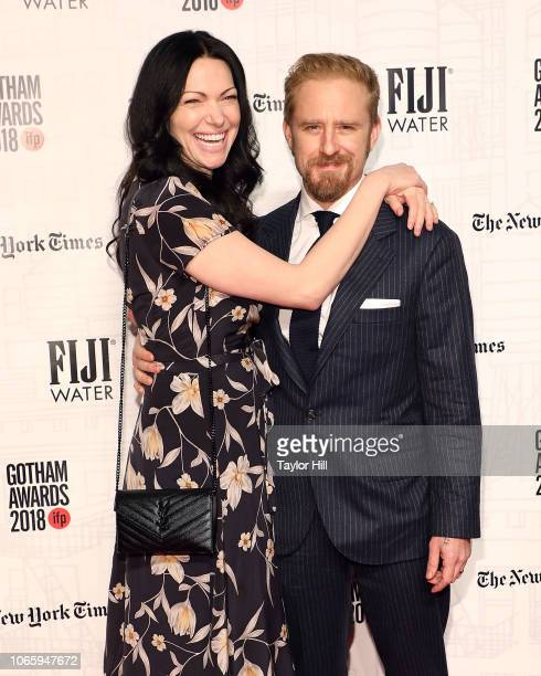 Laura Prepon and Ben Foster attend the 2018 Gotham Awards at Cipriani Wall Street on November 26, 2018 in New York City.