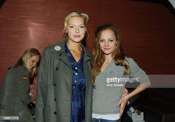 Laura Prepon and Bijou Phillips during Good Art Hollywood Trunk Show Hosted by Danny Masterson and Chris Masterson with Laura Prepon at Geisha House...