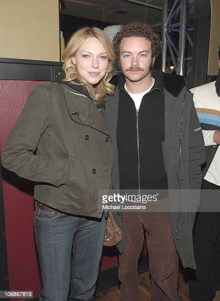 Laura Prepon and Danny Masterson during 2006 Sundance Film Festival Premiere Film Music Lounge Premiere Magazine Party at Premiere Lounge in Park...