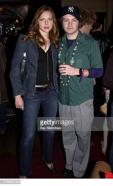 Laura Prepon and Danny Masterson during Danny Masterson's St Patricks Day Party at GQ Lounge at GQ Lounge at Sunset Room in Hollywood California...