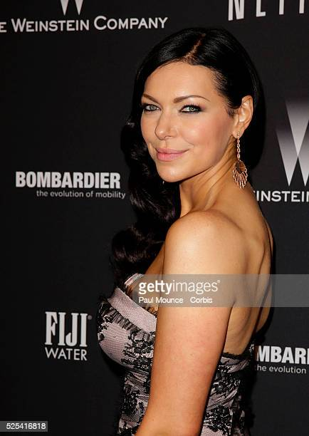 Laura Prepon arrives at the Weinstein Company Golden Globes AfterParty