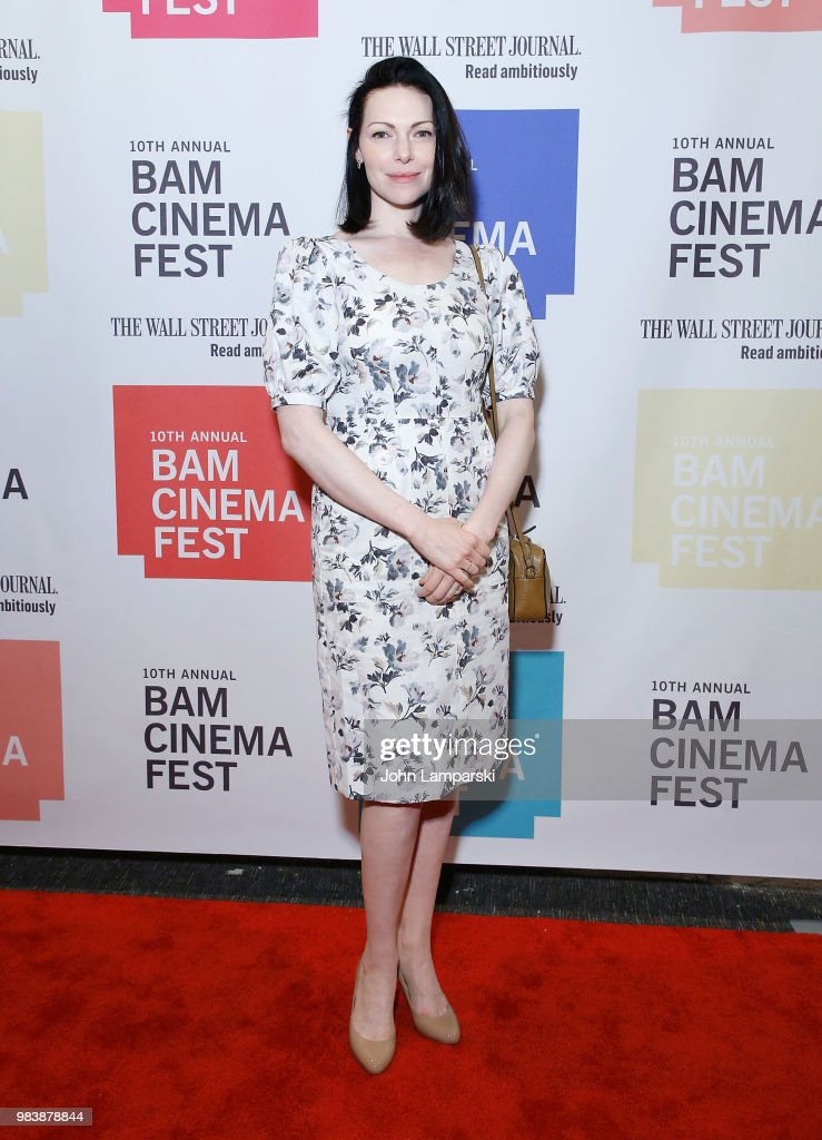 Laura Prepon attends 2018 BAM Cinema Fest Centerpiece Screening Of 'Leave No Trace' at BAM Harvey Theater on June 25, 2018 in New York City.