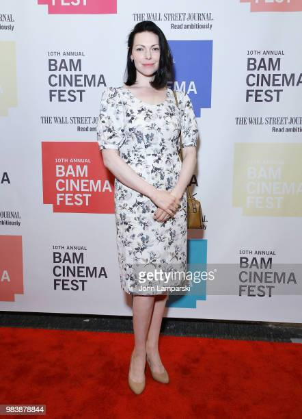 Laura Prepon attends 2018 BAM Cinema Fest Centerpiece Screening Of Leave No Trace at BAM Harvey Theater on June 25 2018 in New York City