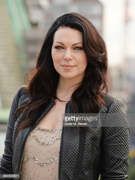 "Laura Prepon attends a photocall to launch season 2 of Netflix exclusive series ""Orange Is The New Black"" at the Soho Hotel on May 29, 2014 in..."
