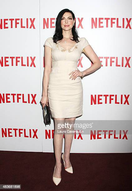 """Laura Prepon attends FYC Screening of """"Orange Is The New Black"""" at DGA Theater on August 11, 2015 in New York City."""