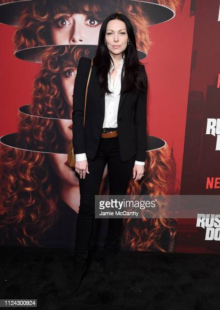 Laura Prepon attends Netflix's Russian Doll Season 1 Premiere at Metrograph on January 23 2019 in New York City