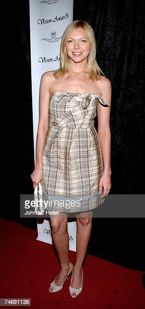 Laura Prepon attends the 34th annual Vision Awards presented by Retinitis Pigmentosa International on June 16 2007 at the Beverly Hilton Hotel in...
