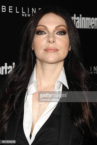 Laura Prepon attends the Entertainment Weekly's Celebration Honoring The 2016 SAG Awards Nominees held at Chateau Marmont on January 29 2016 in Los...