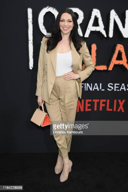 "Laura Prepon attends the ""Orange Is The New Black"" Final Season World Premiere at Alice Tully Hall, Lincoln Center on July 25, 2019 in New York City."