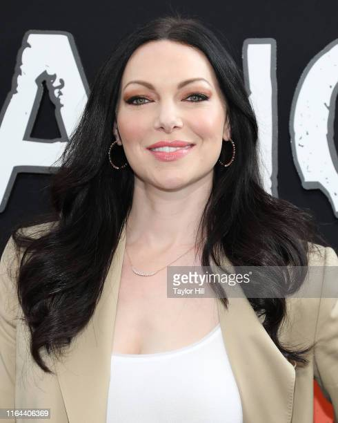 Laura Prepon attends the Orange is the New Black final season world premiere at Alice Tully Hall Lincoln Center on July 25 2019 in New York City