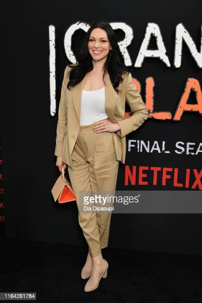 Laura Prepon attends the Orange is the New Black Season 7 World Premiere Screening and Afterparty 2019 on July 25 2019 in New York City