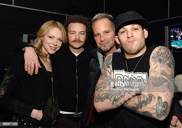 Laura Prepon Danny Masterson Marvin Scott Jarrett director of Furious Generation and Joel Madden