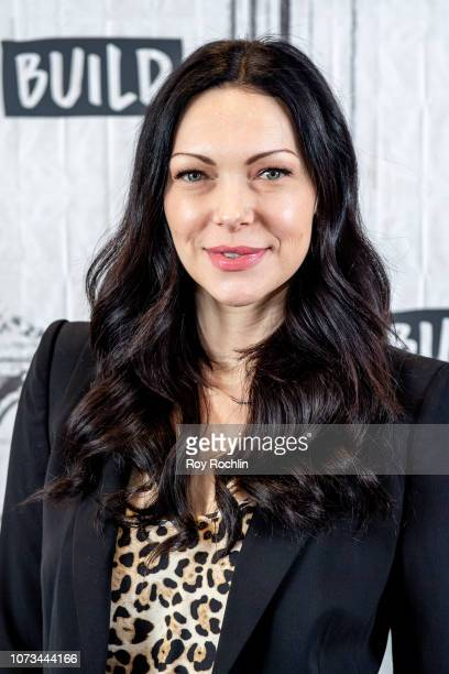 Laura Prepon discusses Orange is the New Black and her YouTube channel with the Build Series at Build Studio on November 27 2018 in New York City