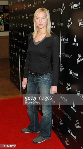 Laura Prepon during Carmen Electra Hosts Star Studded Celebrity Charity Poker Tournament June 3 2006 at Hard Rock Hotel Casino in Las Vegas Nevada...