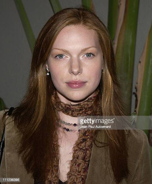 Laura Prepon during Eric Balfour and Band in Concert at the GQ Lounge at GQ Lounge at White Lotus in Hollywood California United States