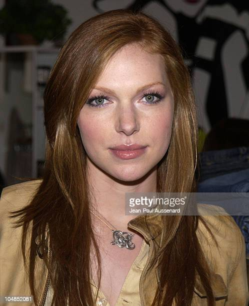 Laura Prepon during Patrick Reid Store Opening at Patrick Reid Store in Santa Monica California United States