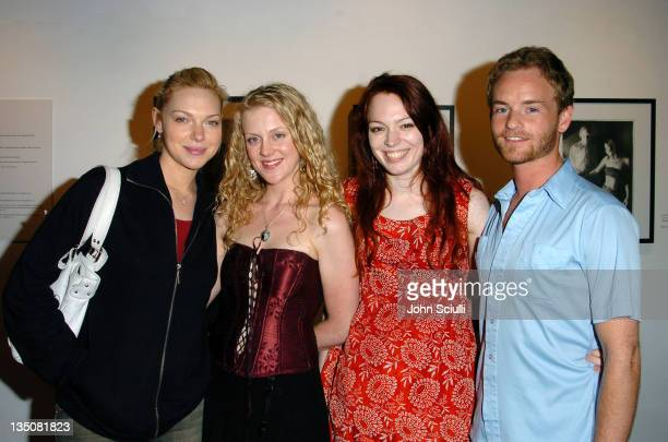 Laura Prepon Lolo Dahl Mercedes Helnwein and Christopher Masterson