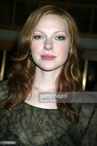 Laura Prepon of 'That 70's Show' during FOX TV Network 2003 2004 UpFront Party at Ciprianis at Grand Central Station in New York City New York United...