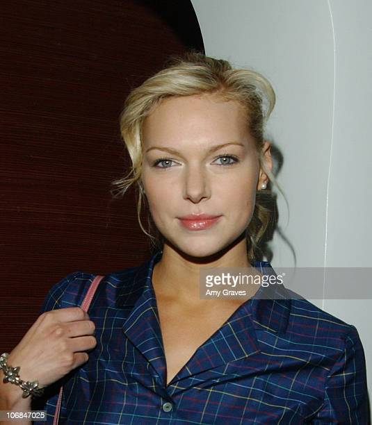 Laura Prepon wearing Good Art Hollywood jewelry during Good Art Hollywood Trunk Show Hosted by Danny Masterson and Chris Masterson with Laura Prepon...