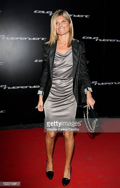 Laura Ravetto attends A Casa Di Lapo cocktail party as part of Milan Fashion Week Menswear S/S 2011 on June 18 2010 in Milan Italy