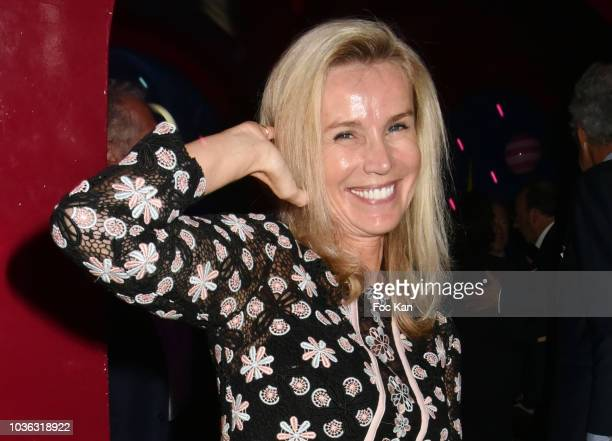 """Laura Restelli Brizard attends """"Ma Nuit Chez Castel"""" Book Signing at Castel on September 19, 2018 in Paris, France."""