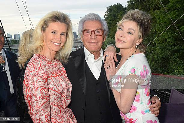Laura Restelli Brizard Jean Daniel Lorieux and Grace de Capitani attend 'Les Amis D'Ismail' Concert Dinner As Part Of Fete De La Musique At The Old...