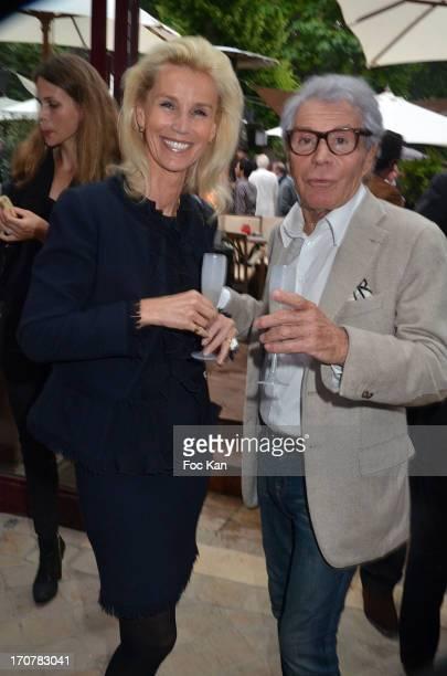 Laura Restelli BrizardÊand Jean-Daniel Lorieux attend the 'Photo' Magazine Celebrates Its 500 Issue At Parc De Bagatelle on June 17, 2013 in Paris,...