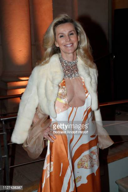 Laura RestelliBrizard attends the 19th Gala Evening of the Paris Charter Against Cancer under the patronage of UNESCO and donated to the...