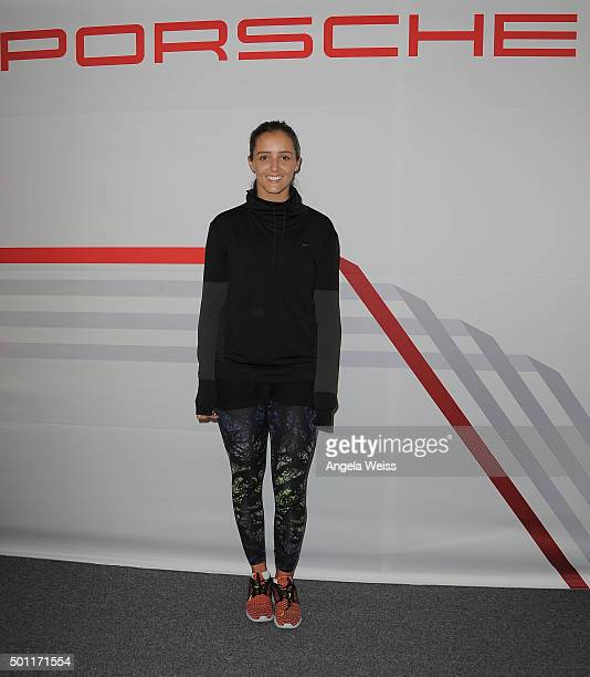 Laura Robson attends the Maria Sharapova and Friends event presented By Porsche on December 12 2015 in Los Angeles California