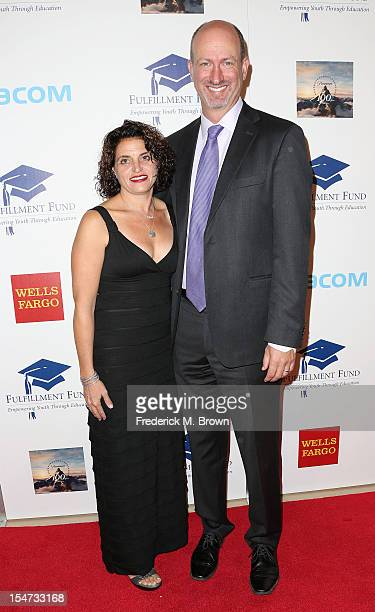 Laura Rogers and CEO Kenny Rogers attend The Fullfillment Fund's STARS 2012 Benefit Gala at The Beverly Hilton Hotel on October 24 2012 in Beverly...