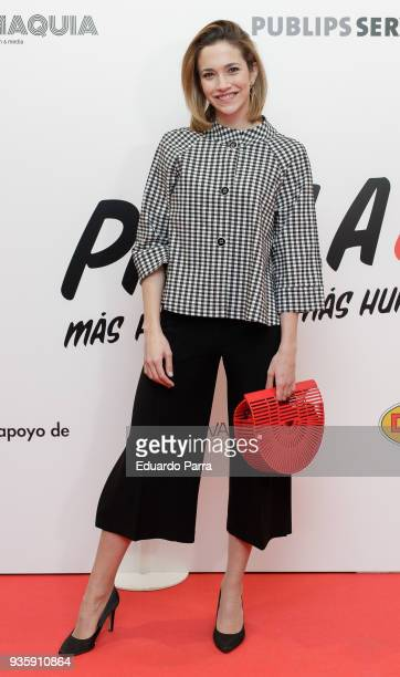 Laura Rozalen attends the 'Paella today' premiere at Proyecciones cinema on March 21 2018 in Madrid Spain