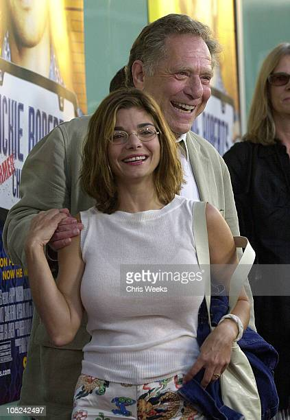 Laura San Giacomo and George Segal during World Premiere of Dickie Roberts Former Child Star at Cinerama Dome in Hollywood California United States