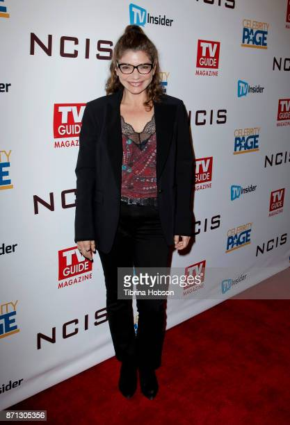 Laura San Giacomo attends TV Guide Magazine's and CBS's celebration of Mark Harmon and 15 seasons of NCIS at Sportsmen's Lodge Event Center on...