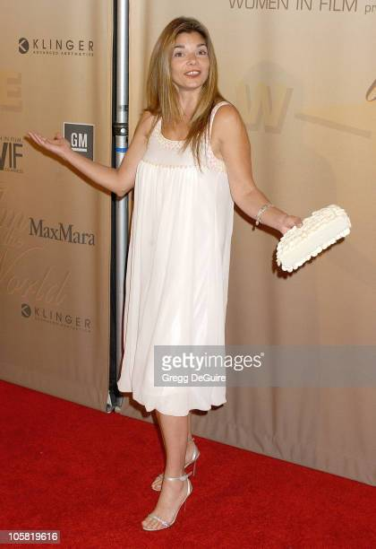 Laura San Giacomo during 2006 Women In Film Crystal + Lucy Awards - Arrivals at Century Plaza Hotel in Century City, California, United States.