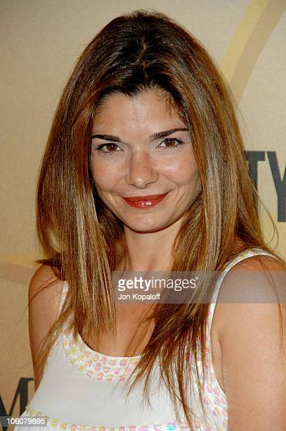 Laura San Giacomo during 2006 Women in Film Crystal Lucy Awards Arrivals at Century Plaza Hotel in Century City California United States