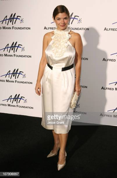 Laura San Giacomo during 3rd Annual Alfred Mann Foundation Innovation and Inspiration Gala Honoring Richard and Nancy Riordan at Mann Estate in...