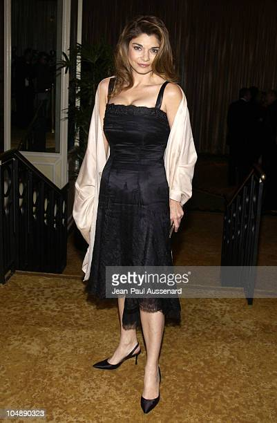 Laura San Giacomo during The 5th Annual Costume Designers Guild Awards Arrivals at The Regent Beverly Wilshire Hotel in Beverly Hills California...