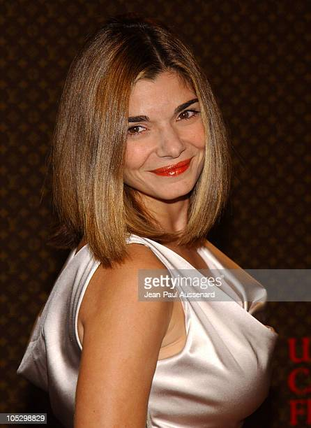 Laura San Giacomo during The Louis Vuitton United Cancer Front Gala Arrivals at Private Residence in Holmby Hills California United States