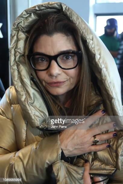 Laura San Giacomo of Honey Boy poses in Rudsak at The Hollywood Reporter 2019 Sundance Studio At Sky Strada Park City on January 25 2019 in Park City...