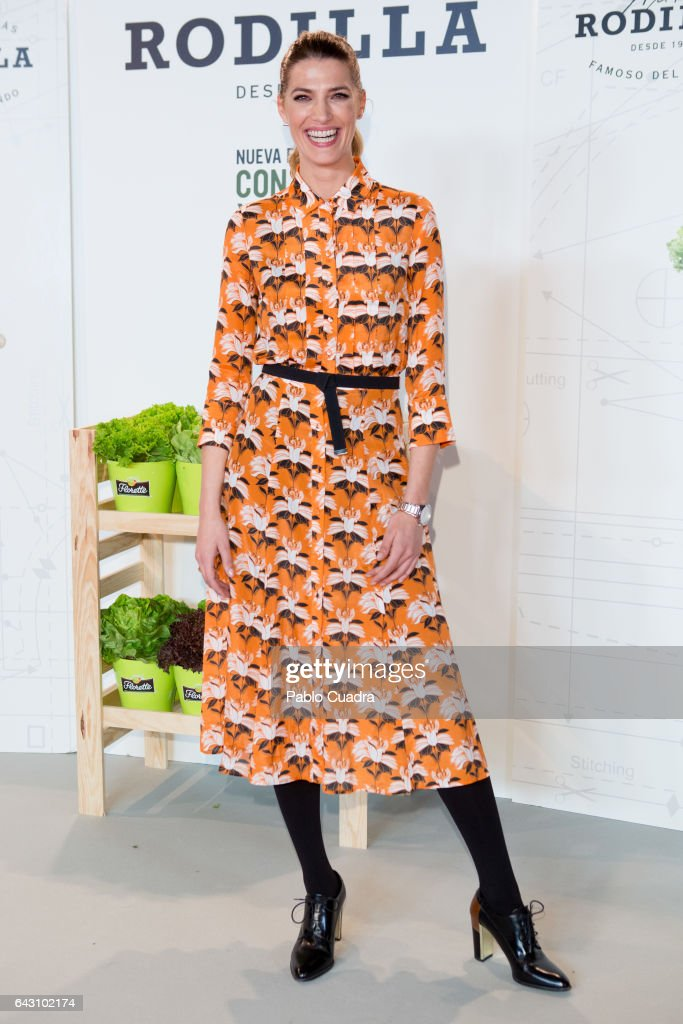 Laura Sanchez Attends Conversa Moda 2017 - Mercedes-Benz Madrid Fashion Week Autumn/Winter 2016/2017