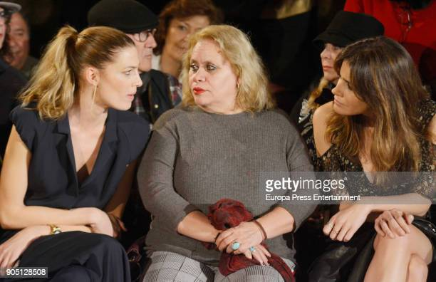 Laura Sanchez Carmina Barrios and Isabel Jimenez attend 'We love Flamenco 2018' on January 13 2018 in Seville Spain