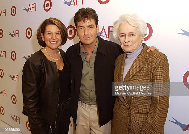 Laura Sandall Target Charlie Sheen and Jean Firstenberg Director and CEO of AFI