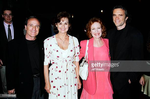Laura Sanders and Linda Henning and guests during 1996 MTV's Launch Party for TV Land at Paramount Pictures in Los Angeles California United States