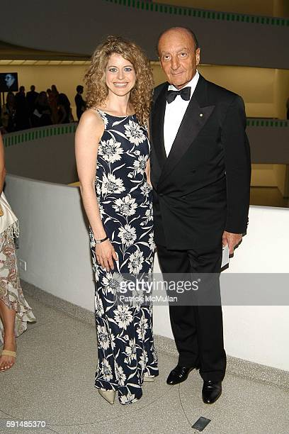 Laura Savini and Dr Lucio Caputo attend Cocktail Party and Dinner to Celebrate the Renowned Italian Drug Rehabilitation Center ' San Patrignano' at...