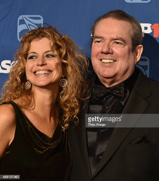 Laura Savini and Jimmy Webb attend the ASCAP Centennial Awards at Waldorf Astoria Hotel on November 17 2014 in New York City